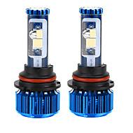 liancheng® 120w 10000lm 9 ~ 32V alto brilho cree cob levou farol kit-9007 / HB5 6k 8k para o carro, off-road, utv, atv