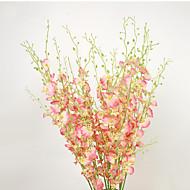 1 1 Ramo Poliéster / Plástico / Gel Silica Outras Flor de Mesa Flores artificiais 42.121inch/103cm