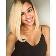 женский синтетический парик короткие прямые волосы ломбера 1b / светлые цвета парик термостойкие Cospaly парик