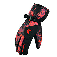 lyžařské rukavice Zimní rukavice Vše Akvitita a sport Zahřívací / Voděodolný / Odolný vůči větru Rukavice Lyže Plátno Lyžařské rukavice