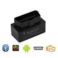 super mini OBD2 ELM327 svart v2.1 versjon av kjøretøy detektor