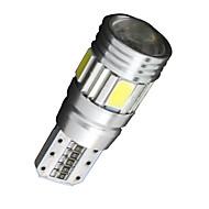 4x Canbus Wedge T10 White 192 168 194 W5W 6 5630 SMD LED Light Lamp Bulb Error Free 12V