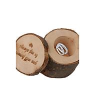 비 개인화-웨딩-클래식 테마-기프트 박스(쵸콜렛,나무)