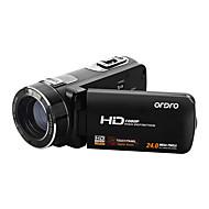 "ordro® HDV-z8plus 1080p Full HD de vídeo digital da câmera tela TFT Sony sensor de 8MP 16x zoom digital 3 ""toque"