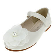 Girl's Flats Spring / Fall Flats Leather Wedding / Outdoor / Party & Evening / Dress / Casual Flat Heel Magic Tape