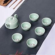 Anaglyph Carp Teapot Teacup Gift Tea Set