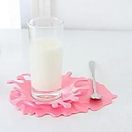 Plastique Ovale Dessous-de-verres
