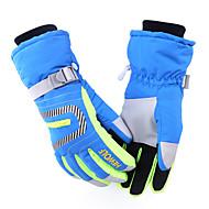 lyžařské rukavice Zimní rukavice Dámské / Pánské / Vše Akvitita a sport Zahřívací / Voděodolný / Odolný vůči větru Hewolf®Lyže /