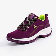 Women's Sneakers Spring / Fall Comfort Suede Casual Flat Heel  Purple / Fuchsia Walking