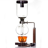 Tetrekker Kaffe Dobbel kopp,Metall Plastikk Glass