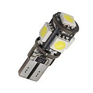 10 x error canbus t10 blanco libre de 5-SMD 5050 llevó la luz interior W5W bombillas 194 168