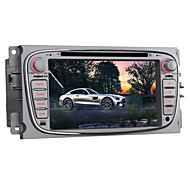 android 5,1 bil dvd-spelare för Ford Focus 2007 ~ 2010 quad core 7 tum 1024 * 600 GPS radio bluetooth