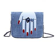 Women Diamond Ring Ginger Printing PU Baguette Casual Key Holder  Mobile Phone Bag  Money Clip  Shoulder Bag