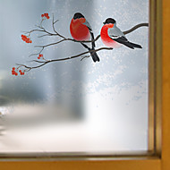Window Film Window Decals Style A Bird on A Branch Matte PVC Window Film - (60 x 58)cm