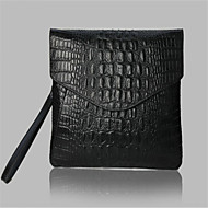 Unisex Cowhide Casual Clutch Evening Bag