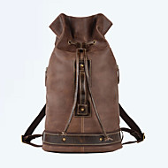 Men Cowhide Sports / Casual / Outdoor Backpack / Travel Bag / Bucket bags