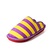 Women's Slippers & Flip-Flops Fall / Winter Comfort Cotton Casual Flat Heel Blue / Brown / Pink / Purple Others