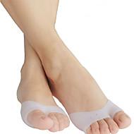 Эта вставка облегчает неудобства, причиняемые натоптышами и устраняет усталость ног. Стельки / вкладыши для Силикон Белый