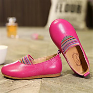 Flats Fall Ballerina Light Up Shoes Patent Leather Casual Flat Heel Others Black Pink Red Other