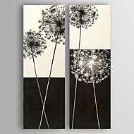 Oil Painting Abstract Trees set of 2 Hand Painted Canvas with Stretched Framed Ready to Hang