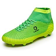 férfi / női / fiú / sportos cipő tavaszi nyári őszi téli kényelem pu szabadtéri atlétikai fűzős kék zöld narancs foci