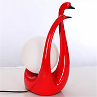 Little Swan Resin Decorative Table Lamp Bed Room Lighting Wedding Gifts Wedding Table Lamp Wholesale