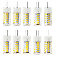 10PCS G4 2.5W 33LED SMD2835 250-300LM Warm White/White Decorative AC220-240V LED Bi-pin Lights