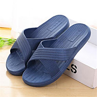 Unisex Slippers & Flip-Flops Spring / Fall Slippers PVC Outdoor / Casual Flat Heel Others Blue / Pink / Red Others