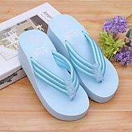 Women's Slippers & Flip-Flops Spring / Summer / Fall Shoes & Matching Bags Rubber Casual Flat Heel OthersBlack