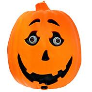 1pc Cadılar Bayramı kabak lamba ses kontrol indüksiyon kabak hayalet gözlük yanıp sönebilir denilen