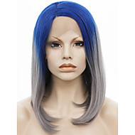 Lace Wig Peruukit naisille Grey Gradient puku Peruukit Cosplay Peruukit