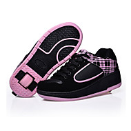 Ultra-light Heelys Children Boy Girls Automatic Invisible Button Skate Heelys Roller Shoes Kids Sneakers With Wheels