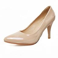 Women's Heels Summer / Fall / Winter Comfort / Pointed Toe Wedding / Outdoor / Dress Cone Heel Split JointBlack