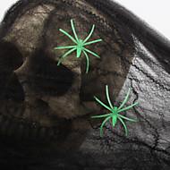 5pcs prop mágica impressão adereços decorativos do dia das bruxas aranha de algodão web masquerade partido trajes de Halloween