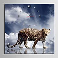 광장 현대/현대 벽 시계 , 동물 캔버스 40 x 40cm(16inchx16inch)x1pcs/ 50 x 50cm(20inchx20inch)x1pcs/ 60 x 60cm(24inchx24inch)x1pcs