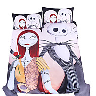 BeddingOutlet Bedding Set Nightmare Before Christmas Home Textiles for Lovers Sheet Twin Full Queen King 3Pcs Bedclothes