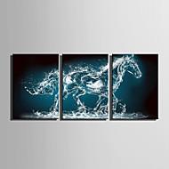 Leinwand-Set Tier Europäischer Stil,Drei Paneele Leinwand Vertikal Druck-Kunst Wand Dekoration For Haus Dekoration