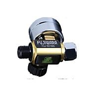 gun lufttryksregulator tabel paintspray pistol lavt trykregulator ventil trykmåler grøn pistol luftforbrug
