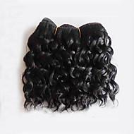 Человека ткет Волосы Бразильские волосы Кудрявый 18 месяцев 1 шт. волосы ткет