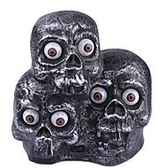 1pc Cadılar Bayramı mefruşat ürünleri terörist müzik iblis farlar indüksiyon ışıklar parlayan gözler üç hayaletler