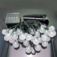 1PC 6M 30 Led Solar Home Christmas Outdoors Decorate String Lights