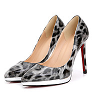 Women's Heels Spring / Fall T-Strap Patent Leather Party & Evening / Dress / Casual Stiletto Heel Others/ Almond Others