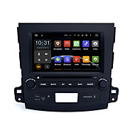 8Quad Core 1024x600 Android 5.1.1 Car DVD for Mitsubishi Outlander 2006-2012 BT 3G Wifi RDS Mirror Link