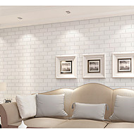 Art Deco / 3D / Tijolo Papel de Parede Para Casa Clássico Revestimento de paredes , PVC/Vinil Material adesivo necessário papel de parede