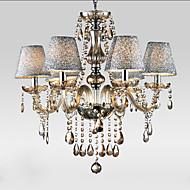 40W Csillárok ,  Modern/kortárs / Hagyományos/ Klasszikus / Régies (Vintage) Galvanizált Funkció for Kristály ÜvegNappali szoba /