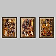 Fantasy Framed Canvas / Framed Set Wall Art,PVC Golden No Mat With Frame Wall Art