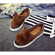 נשים-נעלי ספורט-קנבס-נעלי בובה (מרי ג'יין)יומיומי-עקב שטוח
