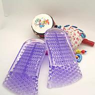 Silikon pro Vložky do bot Tato gelová stélka poskytuje neviditelné podložení pro pohodlí Vašich nohou ve všech typech bot. Modrá / Fialová