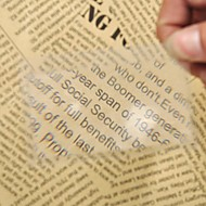Portable Credit Card Size Magnifier Mini Magnifying Glass Loupe Reading Tool for Night Reading