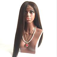 人間の髪の毛は、ブラジルのバージンヘアのかつらは、黒人女性のための赤ん坊の毛guleless完全なレースのかつらストレートスタイルを焼きかつら